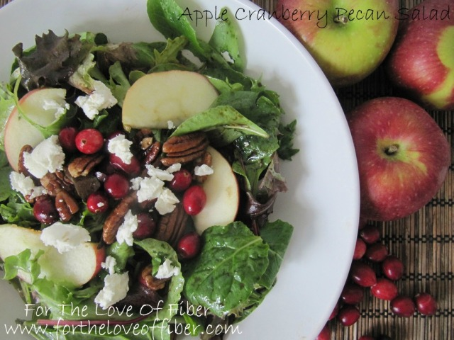 Apple Cranberry Pecan Salad