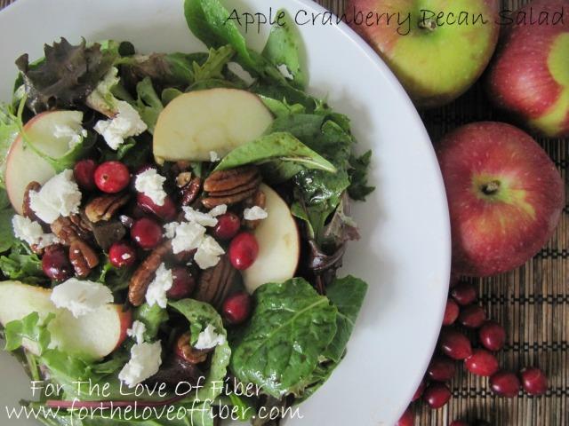 Apple Cranberry Pecan Salad