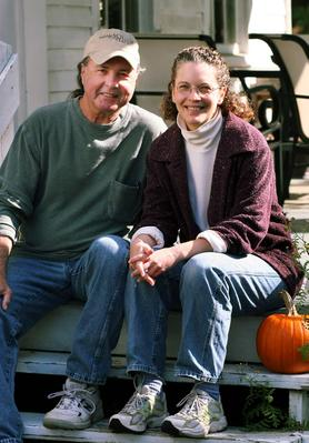 Michael Hart and Laurie Hepworth, publishers of edible South Shore.
