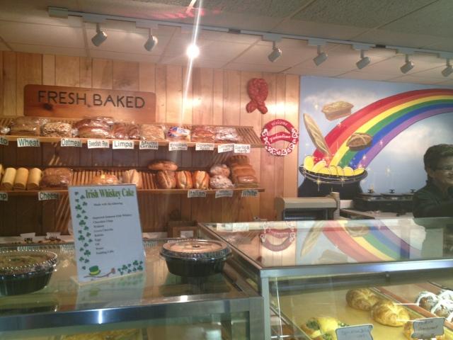 Counter at O'Brien's Bakery
