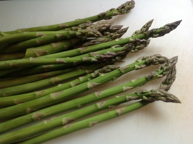 Asparagus Tart with Paleo-Style Crust
