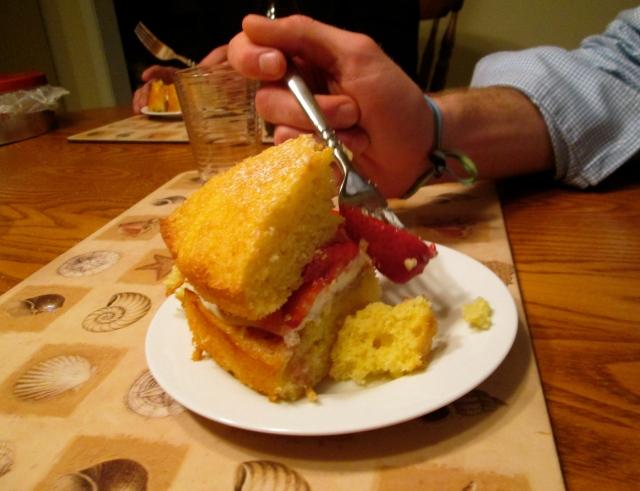Strawberry Cake 4