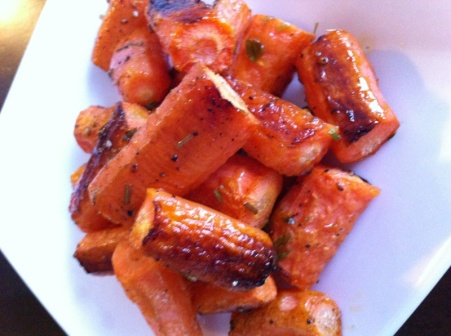 Local Roasted Carrots