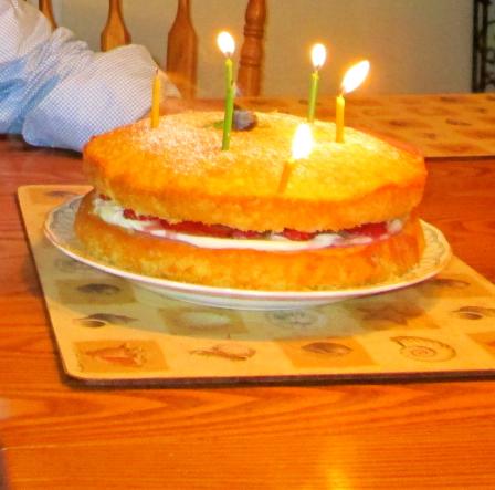 Strawberry Cake 1