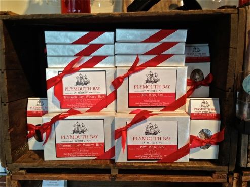 Bay Winery chocolates