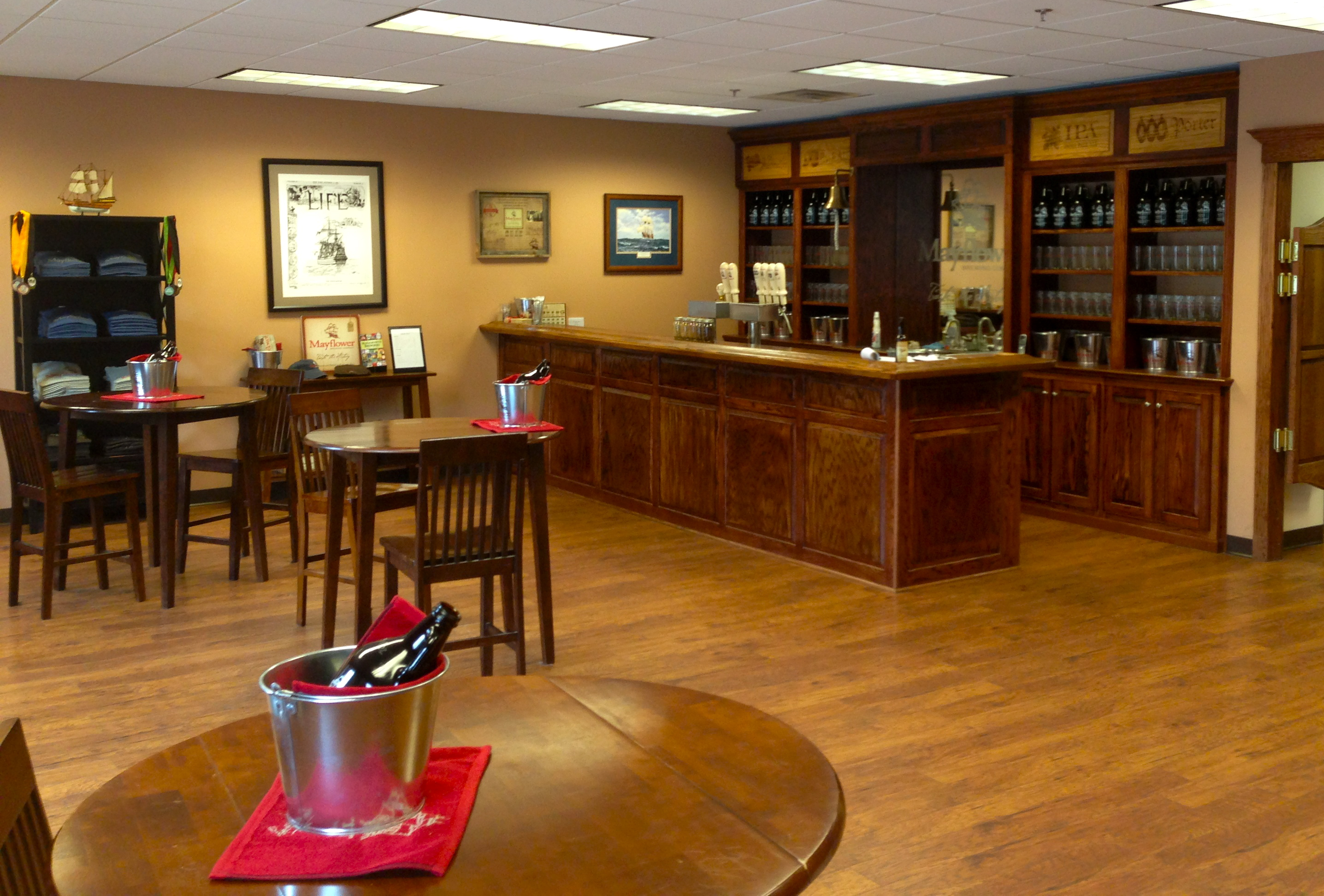 The Tasting Room At Mayflower Brewing Company