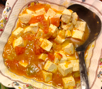 Tofu and Tomatoes