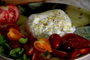 Burrata from Mozzarella House.