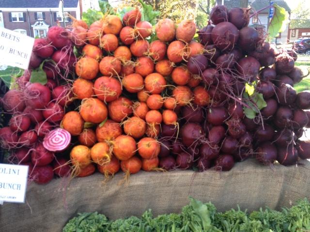 Second Nature Farm veggies