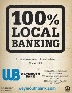 weymouth bank local