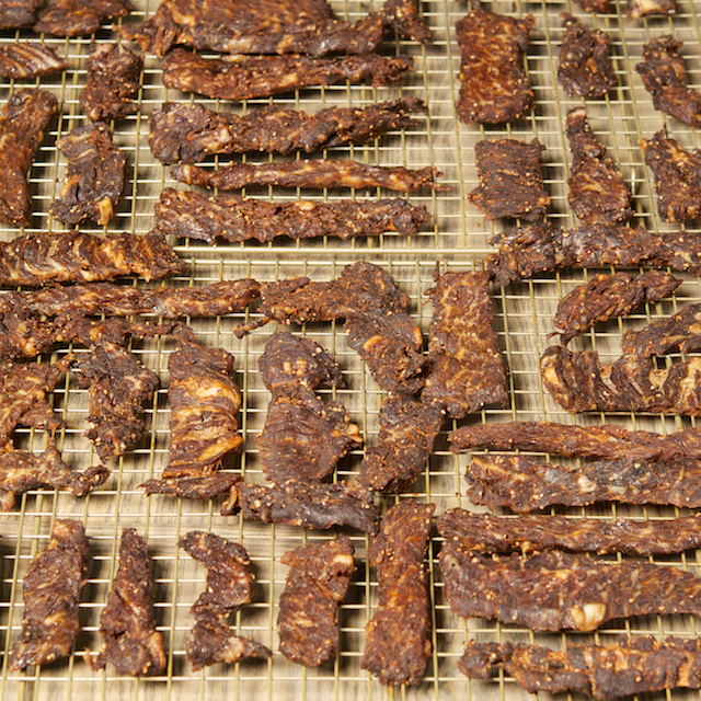 Beef Jerky may not be pretty, but it is DELICOUS, and easy!